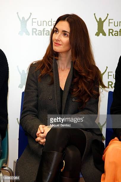 Spanish actress Paz Vega attends the presentation Integracion y Deporte on December 14 2011 in Barcelona Spain