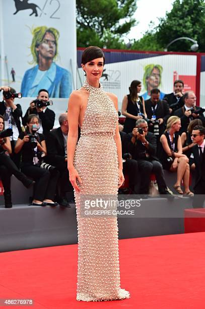 """Spanish actress Paz Vega, member of the jury """"Orizzonti"""" arrives for the screening of the movie """"Everest"""" presented out of competition for the..."""