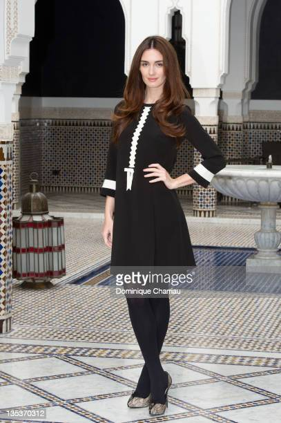 Spanish actress Paz Vega poses during a photocall at La Mamounia during the Marrakech International Film Festival 2011 on December 9, 2011 in...