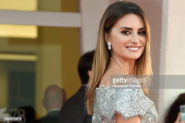 Spanish actress Penelope Cruz at the closing ceremony during the 78th Venice International Film Festival on September 11, 2021 in Venice, Italy.