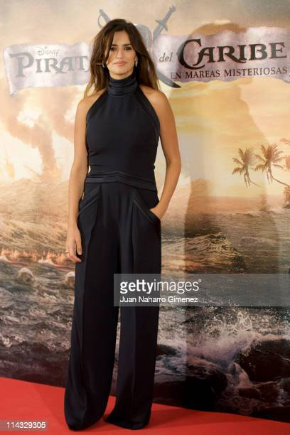 Spanish actress Penelope Cruz attends 'Pirates Of The Caribbean On Stranger Tides' photocall at Villamagna Hotel on May 18 2011 in Madrid Spain