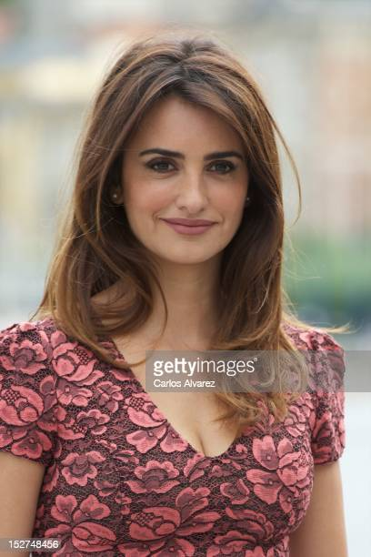 Spanish actress Penelope Cruz attends the 'Venuto al Mondo' photocall at the Kursaal Palace during the 60th San Sebastian International Film Festival...