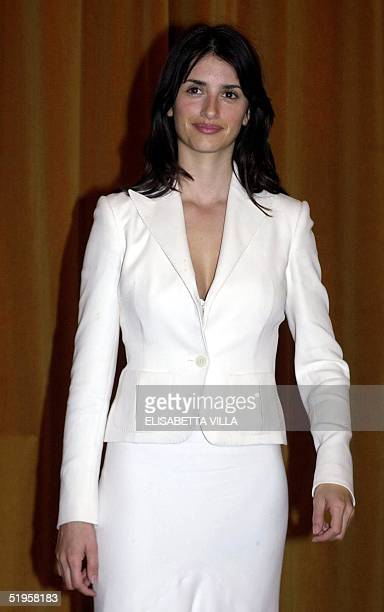 Spanish Actress Penelope Cruz Poses During A Photo Call For Her Movie Vanilla Ice
