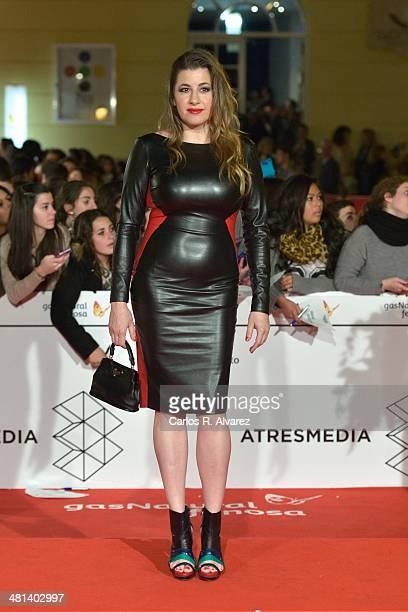 Spanish actress Pepa Charro attends the 17th Malaga Film Festival 2014 closing ceremony at the Cervantes Theater on March 29 2014 in Malaga Spain