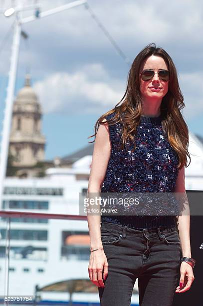 Spanish actress Pilar Lopez de Ayala attends 'Rumbos' photocall during the 19th Malaga Film Festival 2016 Day 3 on April 24 2016 in Malaga Spain