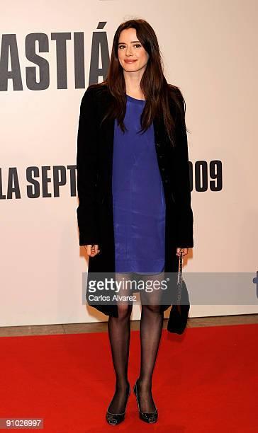 Spanish actress Pilar Lopez de Ayala attends the 'Get Low' premiere at the Kursaal Palace during the 57th San Sebastian International Film Festival...