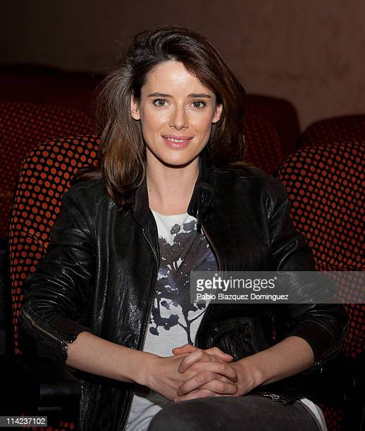 Spanish actress Pilar Lopez de Ayala poses at 'El Extrano Caso de Angelica' portrait session at Verdi Cinema on May 16 2011 in Madrid Spain
