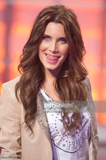 Spanish actress Pilar Rubio attends new Operacion Triunfo season press conference on January 13 2011 in Madrid Spain