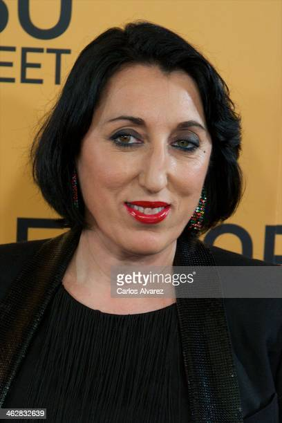 Spanish actress Rossy de Palma attends the The Wolf of Wall Street premiere at the Palafox cinema on January 15 2014 in Madrid Spain