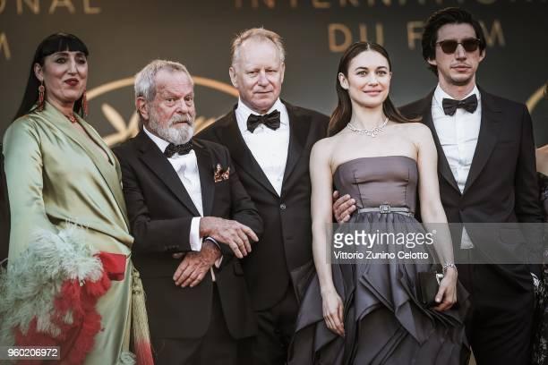 Spanish actress Rossy de Palma USBritish director Terry Gilliam Swedish actor Stellan Skarsgard FrenchUkrainian actress Olga Kurylenko and US actor...