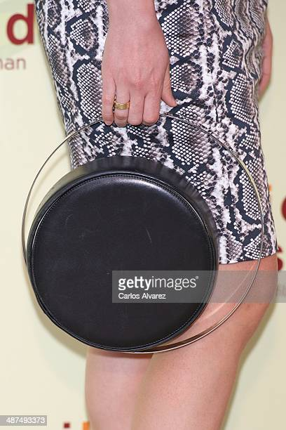 Spanish actress Ruth Gabriel attends the Los Ojos Amarillos de los cocdrilos premiere at the Academia de Cine on April 30 2014 in Madrid Spain