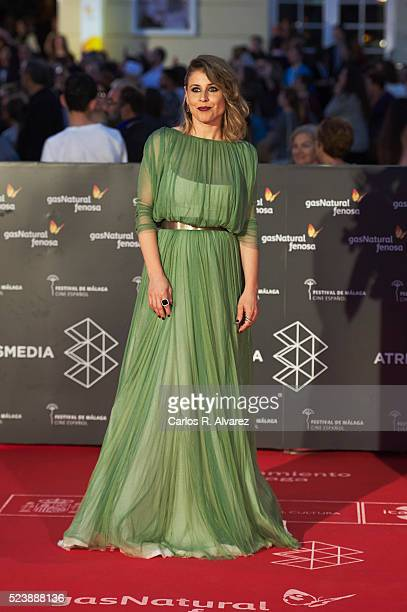 Spanish actress Ruth Llopis attends Rumbos premiere at the Cervantes Theater during the 19th Malaga Film Festival on April 24 2016 in Malaga Spain