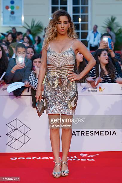Spanish actress Sandra Cervera attends the 17th Malaga Film Festival 2014 opening ceremony at the Cervantes Theater on March 21 2014 in Malaga Spain