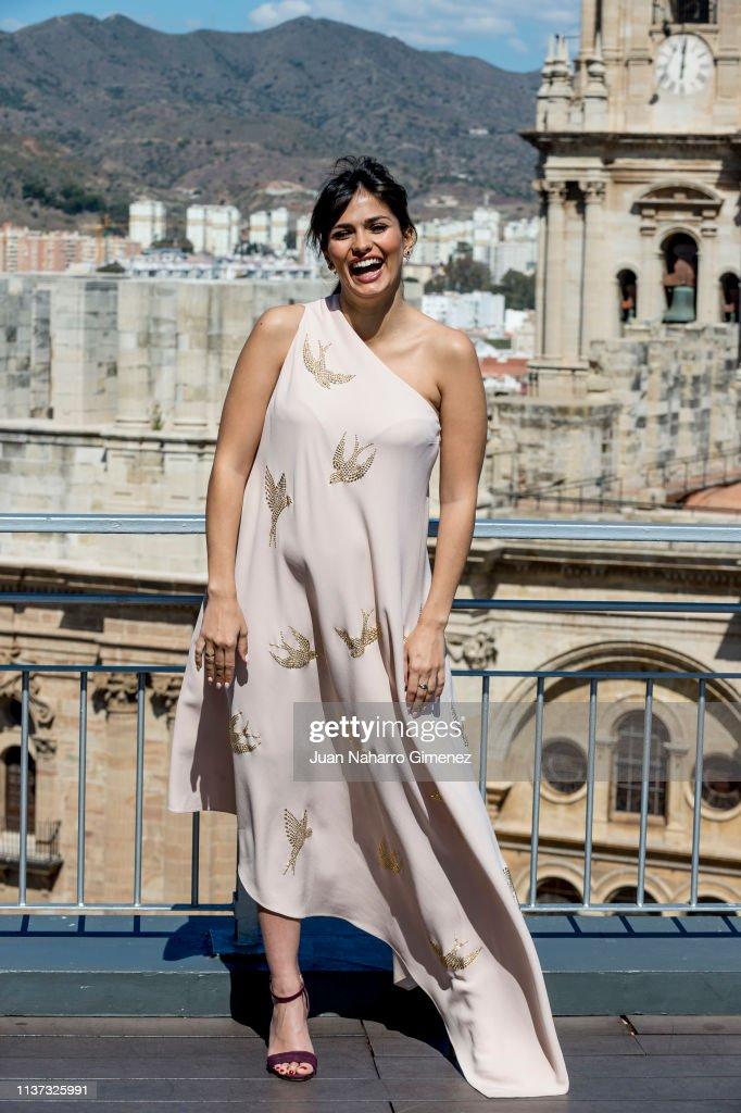 ESP: Sara Salamo Receives L'Oreal Professionnel Award - Malaga Film Festival 2019