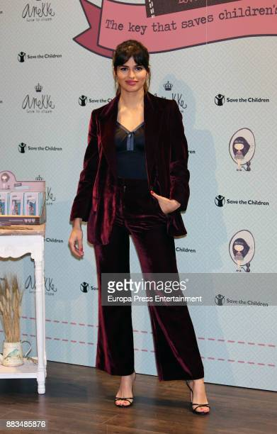 Spanish actress Sara Salamo presents Anneke Dreams proyect Keyrings at the on November 30 2017 in Madrid Spain