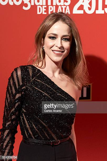 Spanish actress Silvia Abascal attends the Fotogramas Awards 2015 at the Joy Eslava Club on March 7 2016 in Madrid Spain