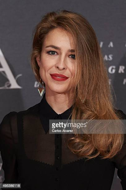 Spanish actress Silvia Abascal attends the Golden Medal 2015 ceremony at Academia de Cine on November 2 2015 in Madrid Spain
