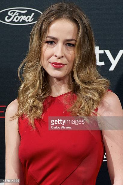 Spanish actress Silvia Abascal attends the In Style Magazine 10th Anniversary party at the Melia Fenix Hotel on October 21 2014 in Madrid Spain