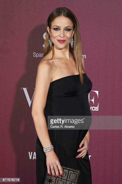 Spanish actress Silvia Abascal attends the 'Vogue Joyas' awards 2017 at the Santona Palace on November 23 2017 in Madrid Spain