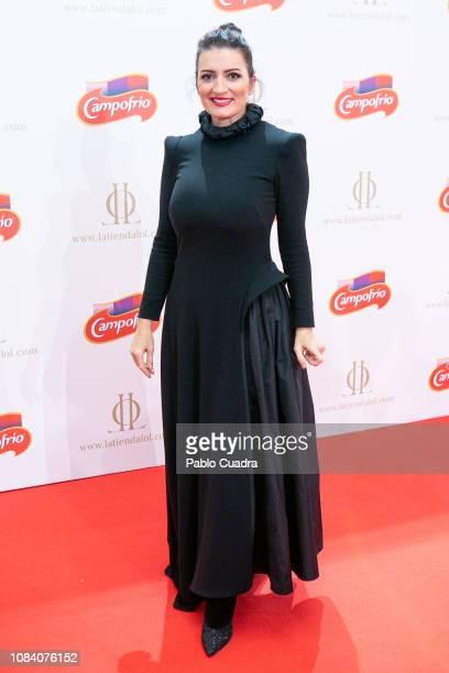 Spanish actress Silvia Abril attends Campofrio Christmas spot presentation at Circulo de Bellas Artes on December 18 2018 in Madrid Spain
