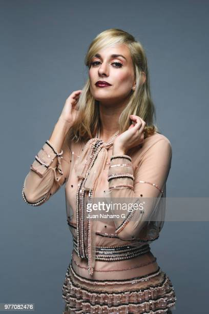 Spanish actress Silvia Alonso is photographed on self assignment during 21th Malaga Film Festival 2018 on April 20 2018 in Malaga Spain