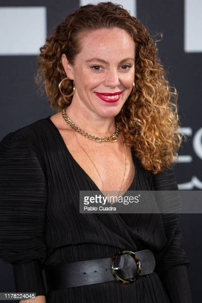 Spanish actress Silvia Marty attends the Yves Saint Laurent fragrance 'Libre' presentation on September 30 2019 in Madrid Spain