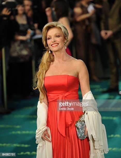 Spanish actress Silvia Tortosa arrives at the Goya Cinema Awards ceremony at the Palacio Municipal de Congressos on February 1 2009 in Madrid Spain