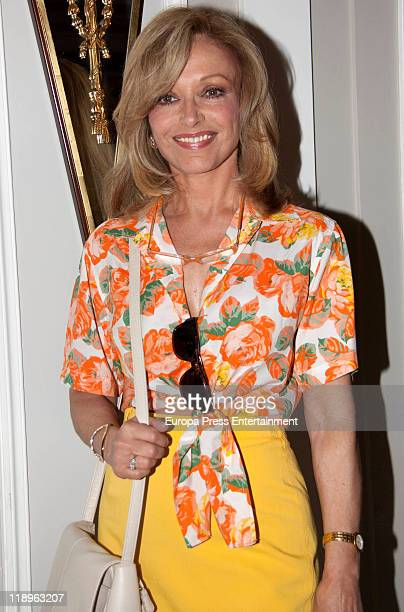 Spanish actress Silvia Tortosa attend '2011 Clarins Awards' at Villamagna Hotel on July 12 2011 in Madrid Spain