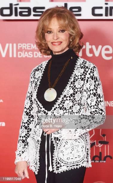 Spanish actress Silvia Tortosa attends 'Dias de Cine' photocall awards at Reina Sofia Art Museum on January 14 2020 in Madrid Spain