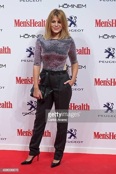 Spanish actress Thais Blume attends the Men's Health 2014 awards at the Goya Theater on October 28 2014 in Madrid Spain