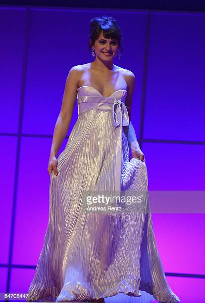 Spanish actress Veronica Echegui attends the presentation of European Shooting Stars as part of the 59th Berlin Film Festival at the Berlinale Palast...