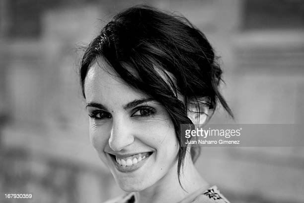 Spanish actress Veronica Echegui member of jury of the 16 Malaga Film Festival poses for a portrait session during 16 Malaga Film Festival on April...