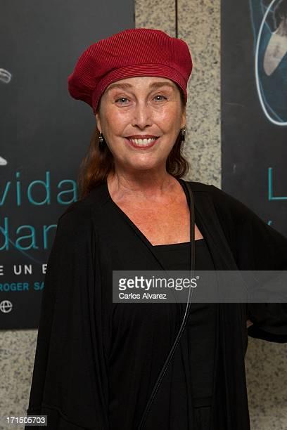 Spanish actress Veronica Forque attends the La Vida y La Danza book presentation at the El Canal Theater on June 25 2013 in Madrid Spain