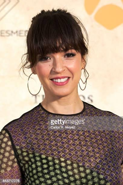 Spanish actress Veronica Sanchez attends 'Tiempo de Guerra' photocall at the Palacio de Congresos during the FesTVal 2017 on September 6 2017 in...
