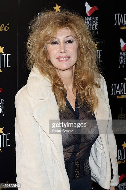 Spanish actress Victoria Vera attends Starlite 2015 presentation party at the Barcelo Theater on November 26 2014 in Madrid Spain
