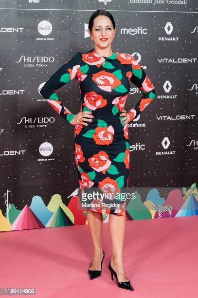 Spanish actress Yolanda Ramos attends 'Los40 music awards 2019' photocall at Wizink Center on November 08 2019 in Madrid Spain
