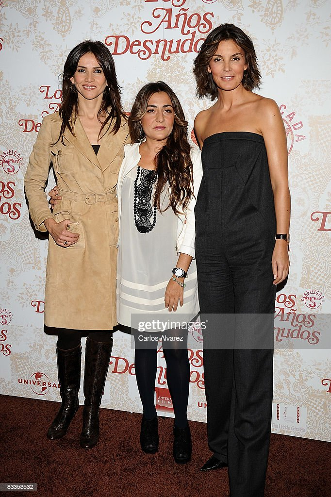 Spanish Actresses Goya Toledo Candela Pena And Mar Flores Attend
