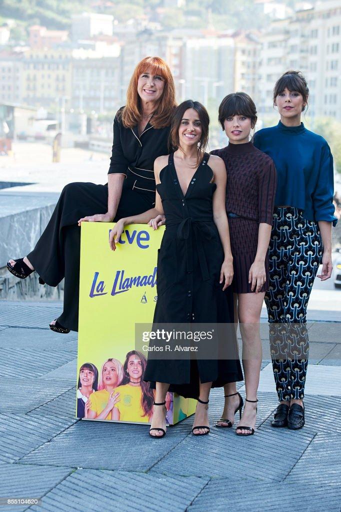 'La Llamada' Photocall - 65th San Sebastian Film Festival