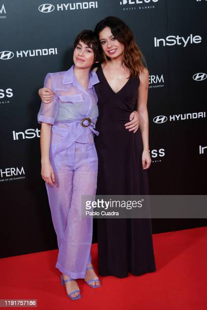 Spanish actresses Greta Fernandez and Anna Castillo attend the InStyle 15th anniversary party at Bless Hotel on December 03 2019 in Madrid Spain