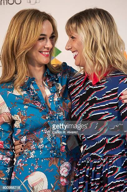 Spanish actresses Marta Hazas and Cecilia Freire attend Velvet photocall at Palacio de Congresos during FesTVal 2016 Day 5 on September 9 2016 in...