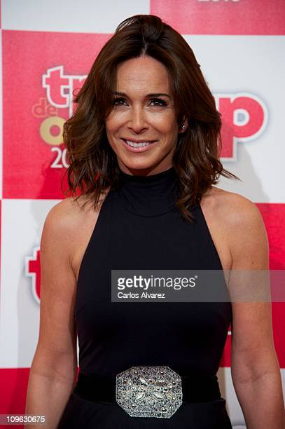 Spanish actrtess Lidia Bosch attends TP de Oro awards 2010 at the Canal Theater on February 28 2011 in Madrid Spain