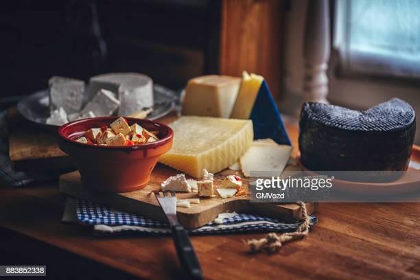 Spanische Vorspeise Variation von guter Qualität Käse
