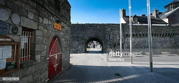 Spanish Arch originally part of the city wall, Galway City, Ireland.
