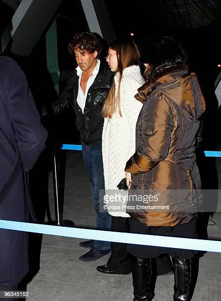 Spanish aristocrat Alvaro de Marichalar and his Russian girlfriend Ekatheryna Anikieva sighting on February 1 2010 in Madrid Spain
