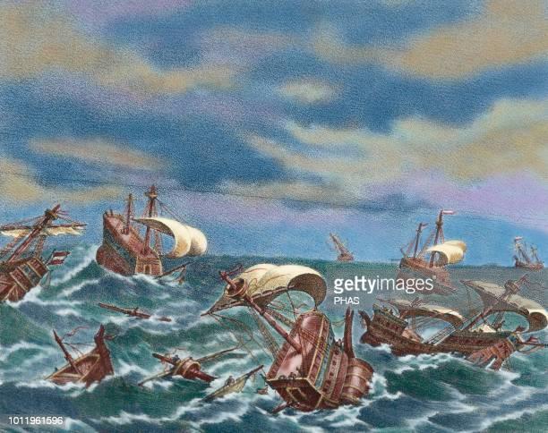 489 Spanish Armada Bilder Und Fotos Getty Images
