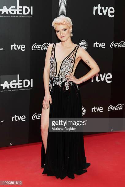 Spanish artist Alba Reche attends Odeon Awards 2020 at Royal Theater on January 20 2020 in Madrid Spain