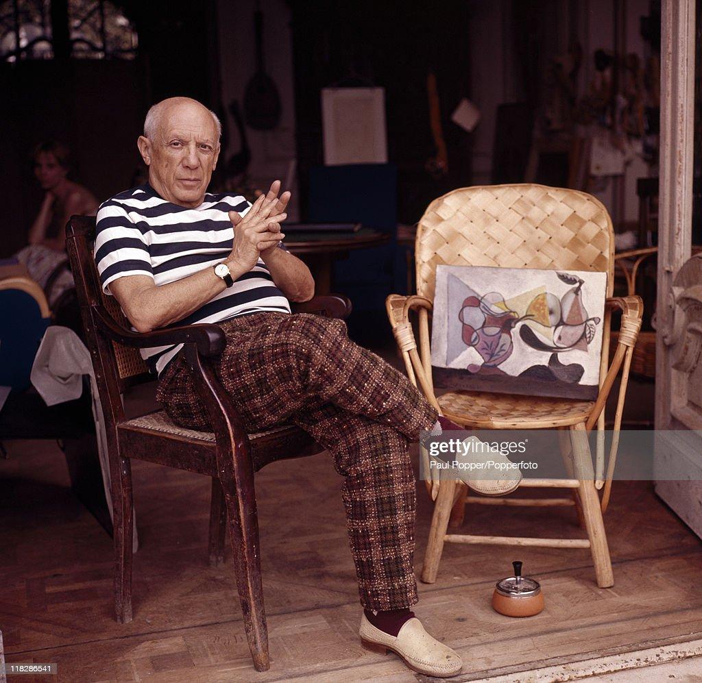 Pablo Picasso - Artist : News Photo