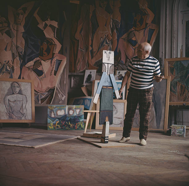 Pablo Picasso At Work