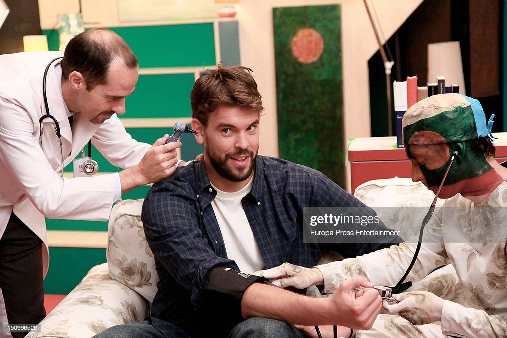 Marc Gasol Attends Commercial For Caser Seguros In Madrid : News Photo