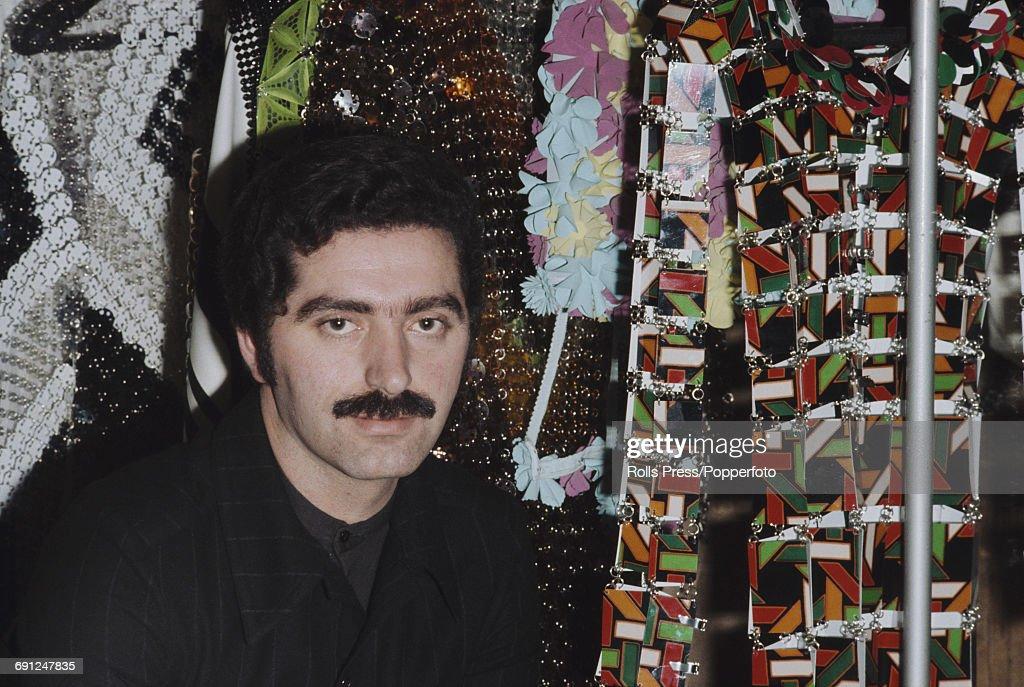 Fashion Designer Paco Rabanne : Nyhetsfoto